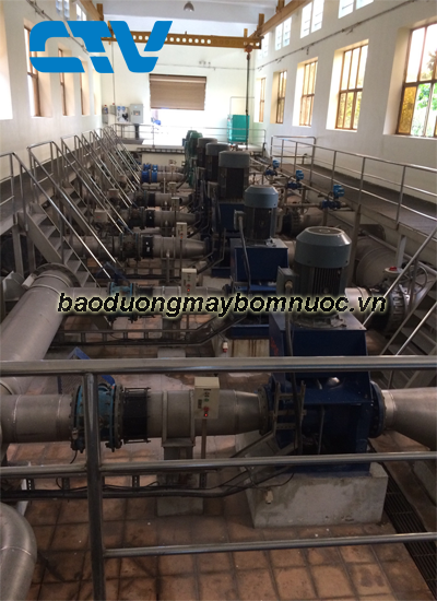 Bảo dưỡng hệ thống máy bơm nước