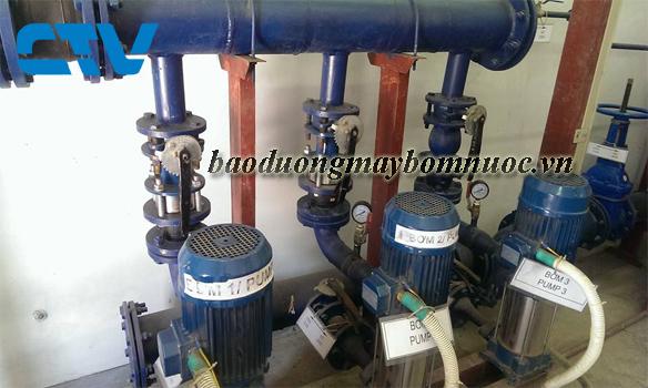 Bảo dưỡng máy bơm trục đứng Pentax uy tín tại Hà Nội