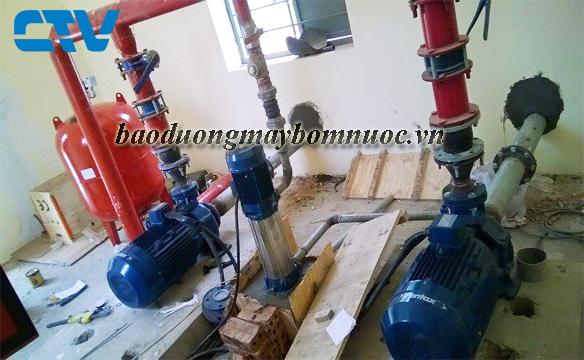 Dịch vụ bảo dưỡng máy bơm nước công nghiệp Pentax nhanh chóng toàn quốc