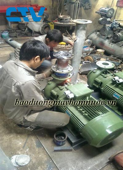 Địa chỉ bảo dưỡng máy bơm nước công nghiệp Sealand nhanh chóng, chuyên nghiệp tại Hà Nội