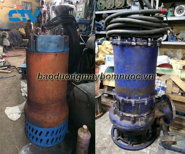 Quy trình bảo dưỡng máy bơm chìm nước thải Tsurumi