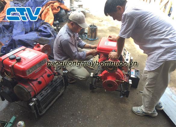 Quy trình bảo dưỡng máy bơm chữa cháy Tohatsu