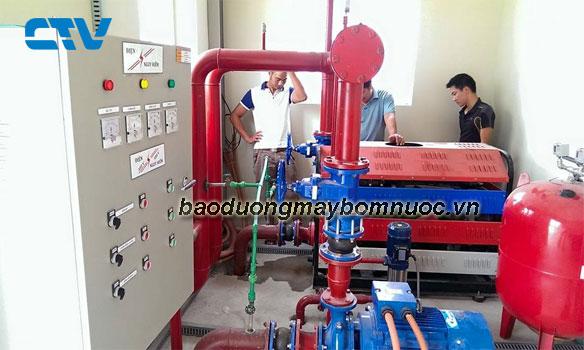 Hướng dẫn bảo dưỡng máy bơm cứu hỏa Diesel