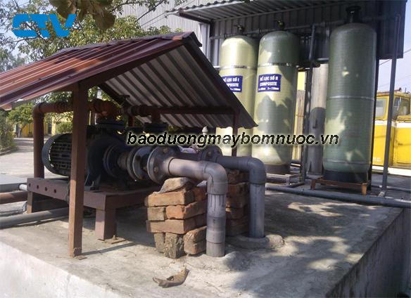Bảo dưỡng hệ thống máy bơm cấp nước sạch sinh hoạt nông thôn