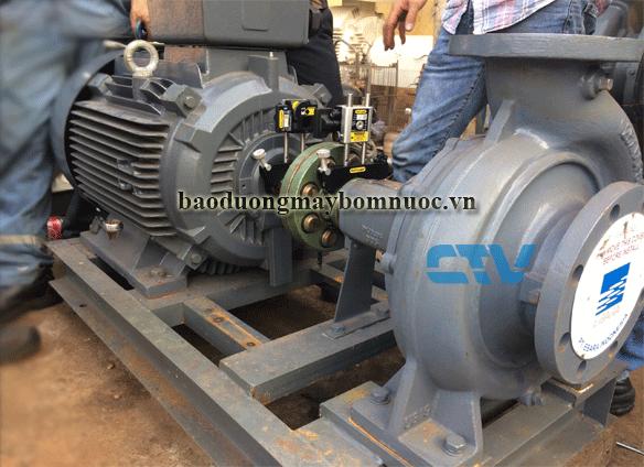 Bảo dưỡng máy bơm trục rời Ebara