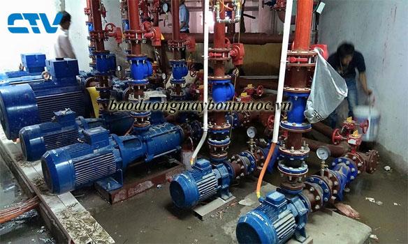 Bảo dưỡng hệ thống máy bơm nước cho các chung cư