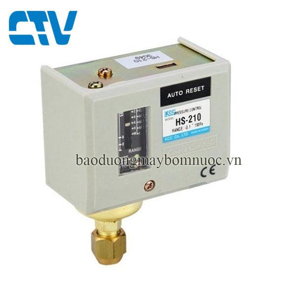 Công tắc áp suất HS 210 (rơ le áp suất)