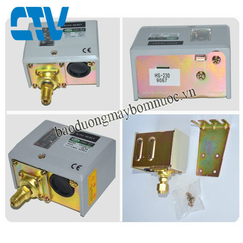 Công tắc áp suất HS 230 (rơ le áp suất)