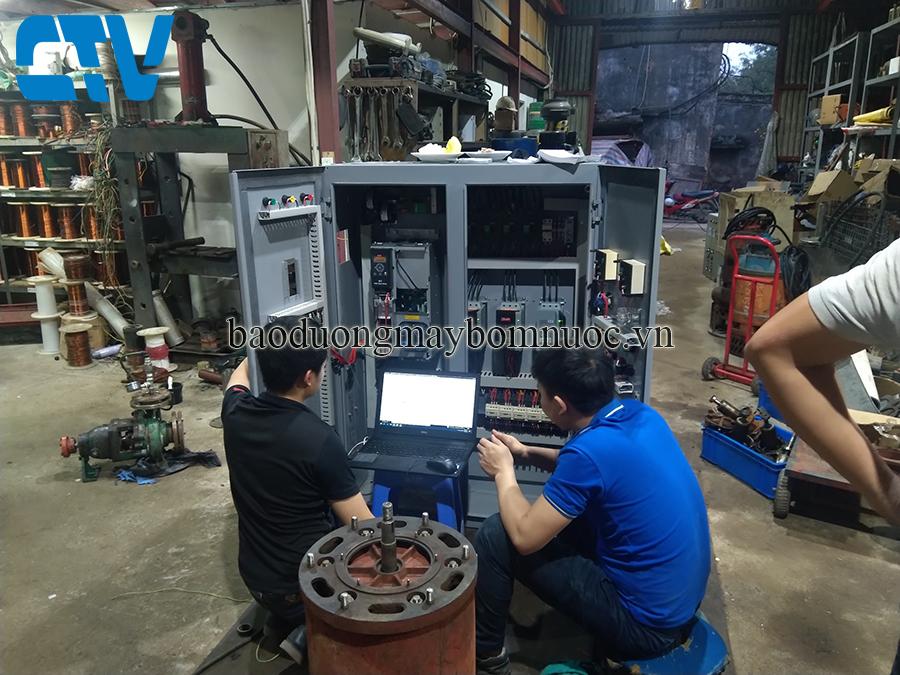 Đơn vị thiết kế, lắp đặt tủ điện điều khiển máy bơm nước bằng biến tần