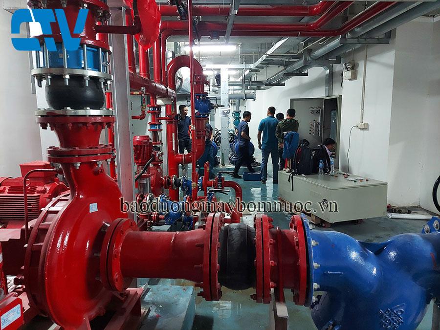 Đơn vị thiết kế, lắp đặt tủ điện điều khiển hệ thống máy bơm PCCC
