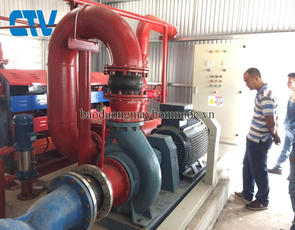 Kiểm tra, sửa chữa, bảo dưỡng, bảo trì máy bơm, hệ thống máy bơm công nghiệp.